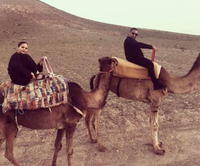 In fact, it kind of looks like camels were the highlight of the trip...