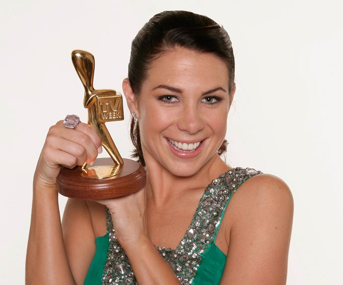 2007: Kate Ritchie (*Home And Away* - Seven Network)