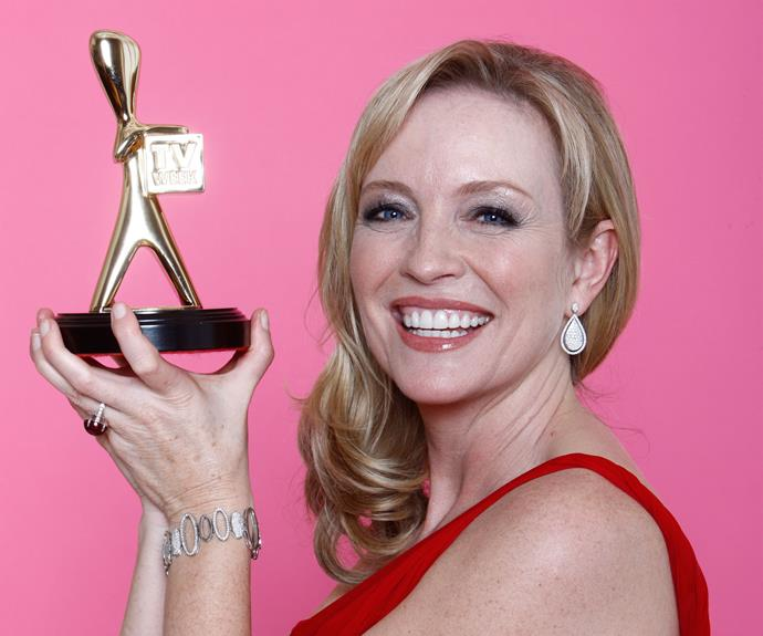 2009: Rebecca Gibney (*Packed To The Rafters* - Seven Network)