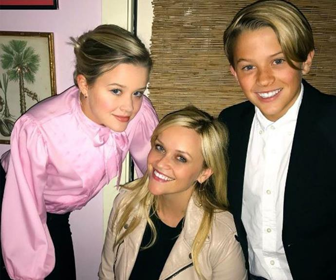 My, how these kids have grown! Reese Witherspoon recently celebrated her 41st birthday with Ava, who's 18 this year, and now-13-year-old Deacon. And they look just as gorgeous as their A-list mum.
