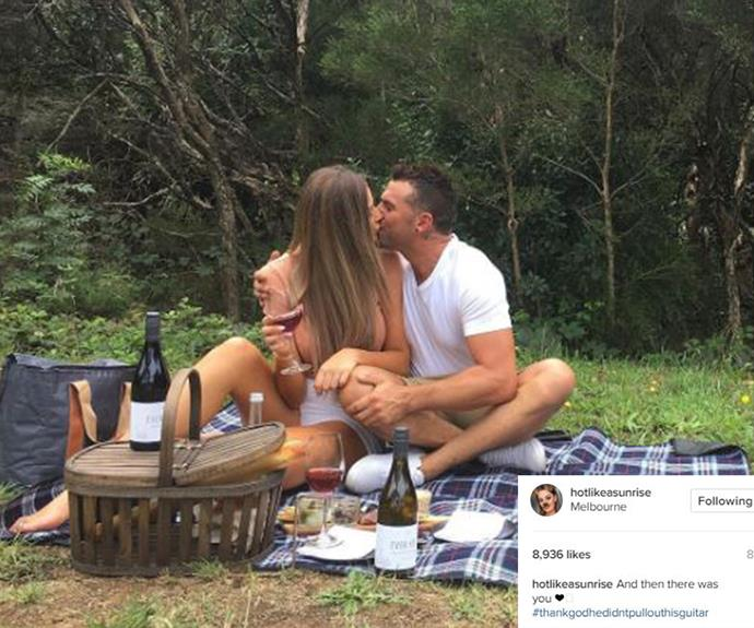Cheryl Maitland looks smitten with her new man!
