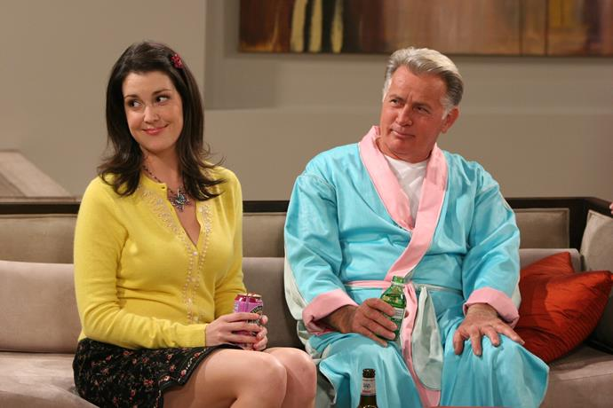 Former *Two And A Half Men* star Melanie Lysnkey (pictured with Martin Sheen) will join Anthony in the new series.