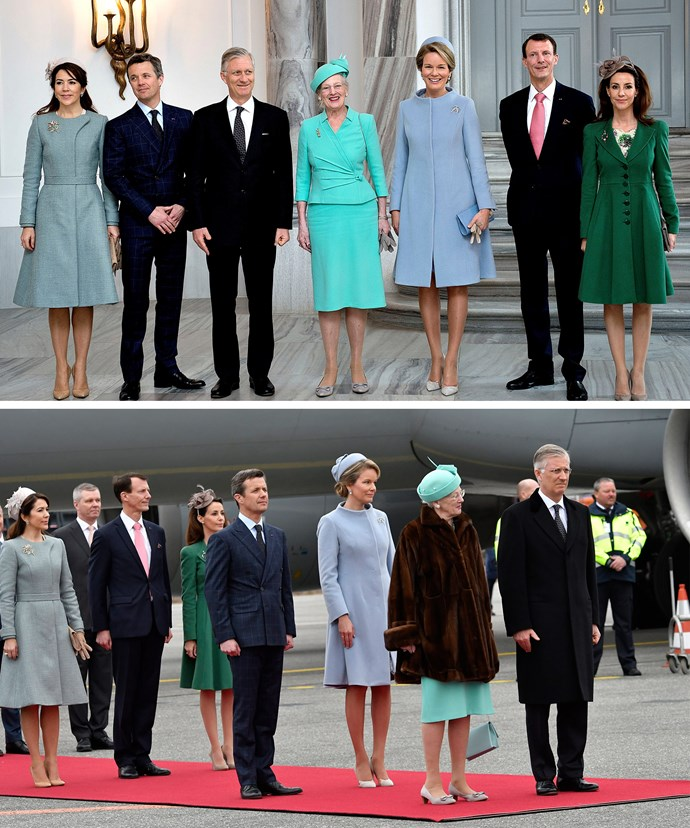 The Belgium royals are in Denmark for three days, in the hopes to further strengthen the already strong bonds between the two countries.