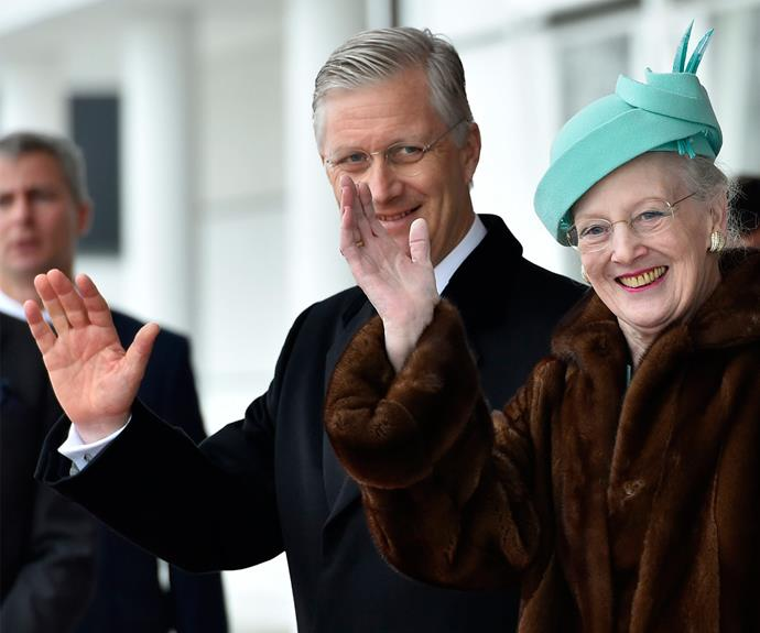 The last time the Belgium royal couple were in Denmark was in 2015 for Queen Margrethe's 75th birthday.