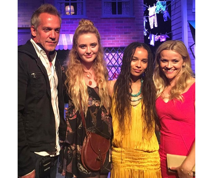 Kathryn also shared this shot of her with co-stars Jean-Marc Vallee, Zoë Kravitz and Reece Witherspoon.