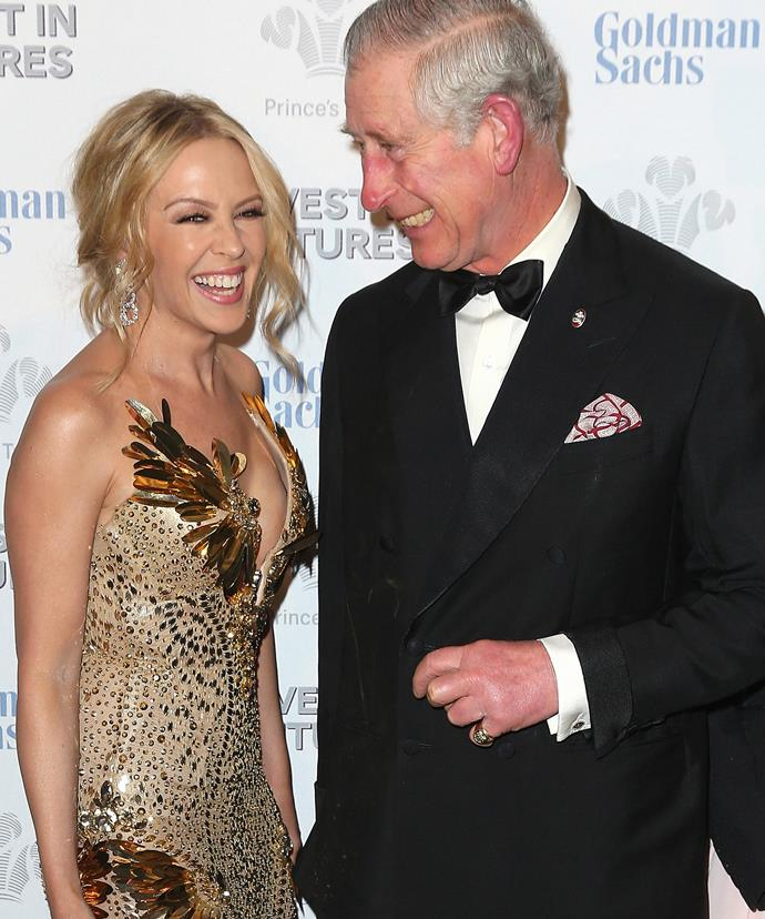 The royals, just like us, adore Kylie!