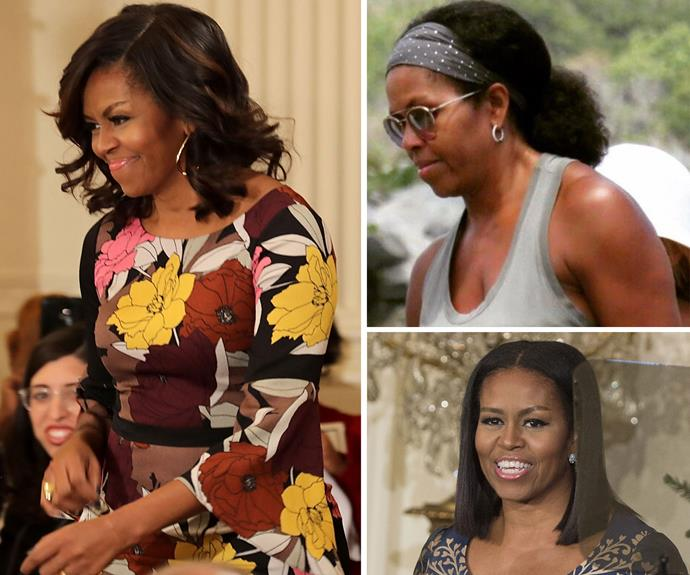 "[Michelle Obama](http://www.nowtolove.com.au/beauty/skincare/michelle-obama-debuts-new-hairstyle-14805|target=""_blank""