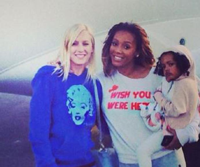 Mel, pictured with Lorraine Gilles, claims Stephen paid for the nanny to terminate her pregnancy.