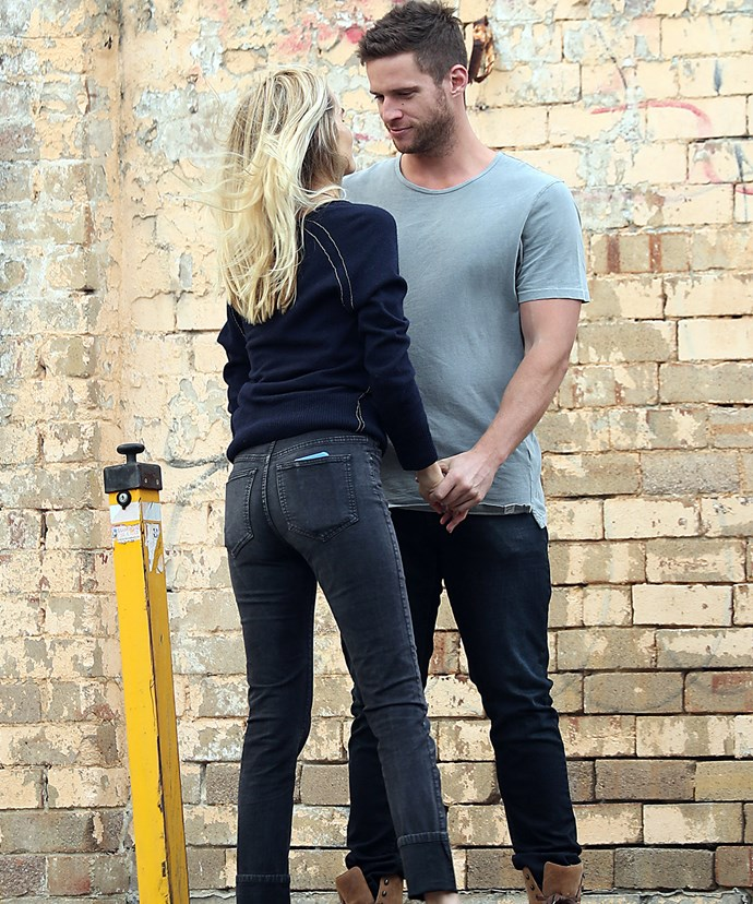 Co-stars Isabel Lucas and Dan Ewing have such sizzle!