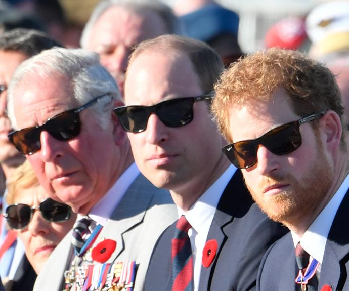 Prince William, Prince Harry joined their father Prince Charles on Sunday to remember the armed forces who sacrificed their lives at the 1917 Battle of Vimy Ridge.