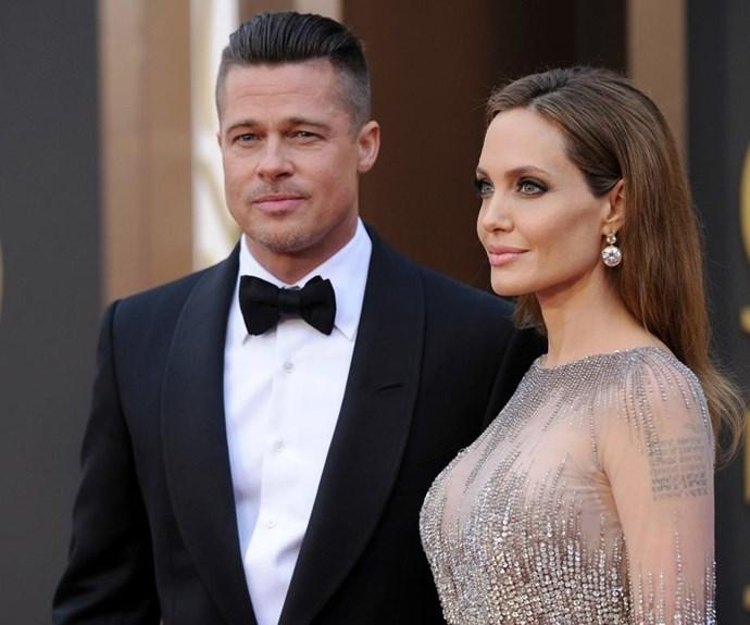 The actor split from Angelina Jolie last September.