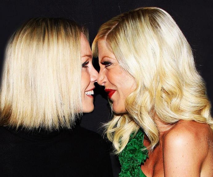 Jennie Garth and Tori Spelling remain close friends.