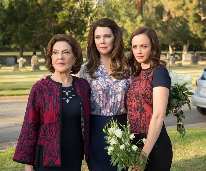 Three generations of Gilmore women, will we see a fourth?
