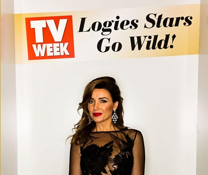 This year's TV WEEK Logies Ambassador Dannii Minogue.