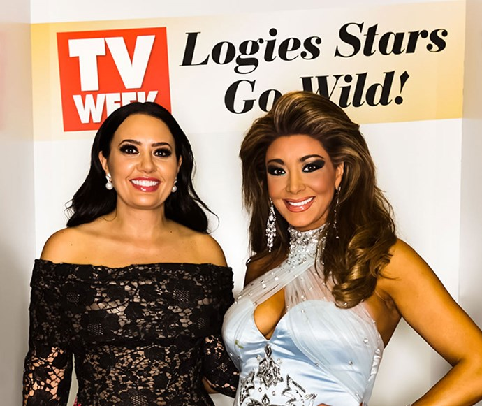 *The Real Housewives of Melbourne* stars Lydia Schiavello and Gina Liano.