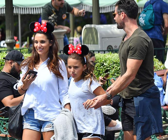 Mother-daughter Minnie Mouse ears are the cutest.