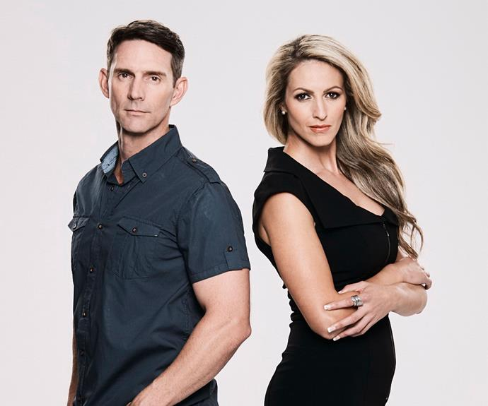 **Sarge & Stacey:** At 42, Sarge has no doubt his partner of two-and-a-half years, Stacey Louise, is his soulmate. But for fitness fanatic Stacey Louise, it's a different story. Sarge is hoping the experiment will help get the couple back on track so he can eventually pop the question.