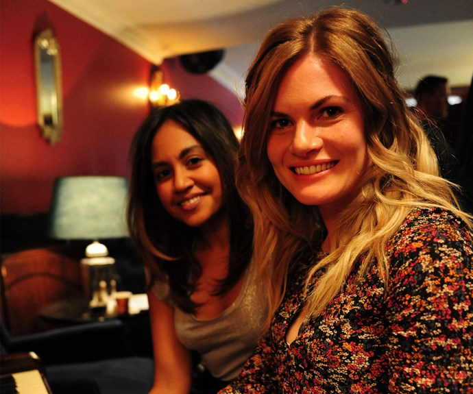 Jessica Mauboy and Bonnie Sveen in *The Secret Daughter*.