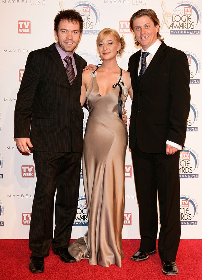 Asher Keddie looked lovely in silk at the Logies in 2006.