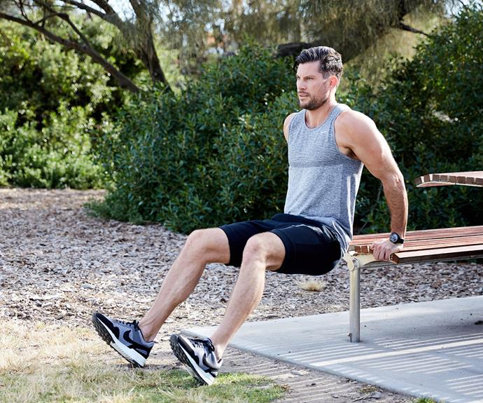 You can do Sam's workouts literally anywhere!