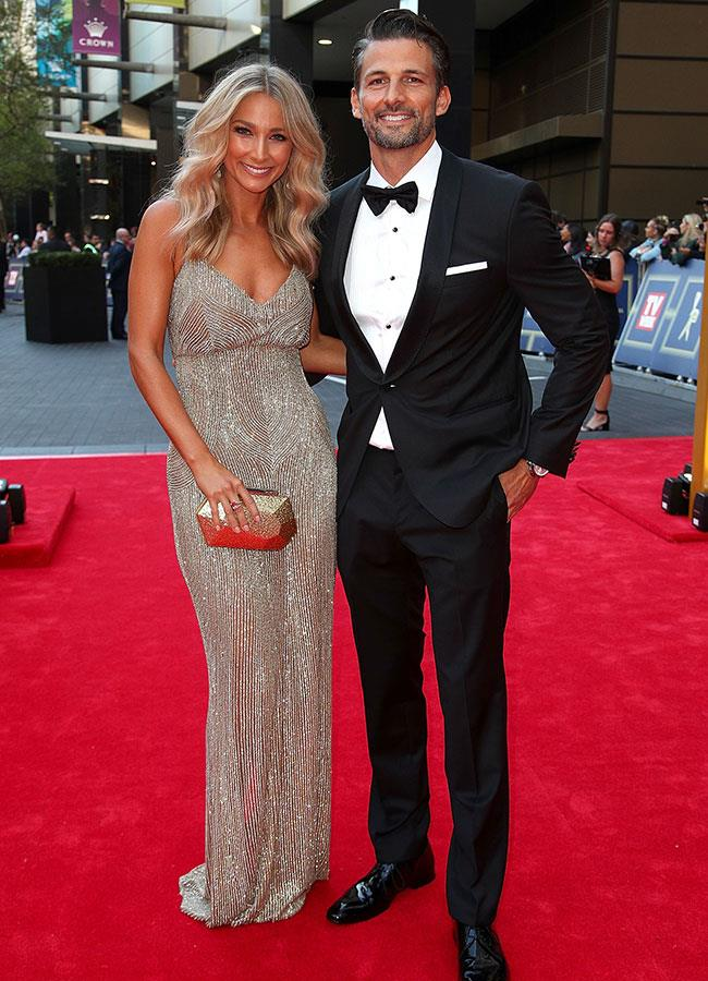 *The Bachelor's* original couple Anna Heinrich and Tim Robards were glowing on the red carpet.