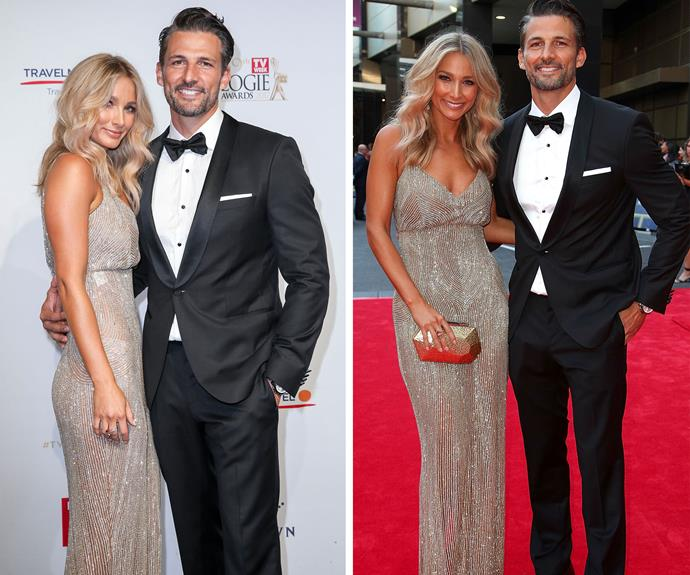Bachie couple Anna Heinrich and Tim Robards.