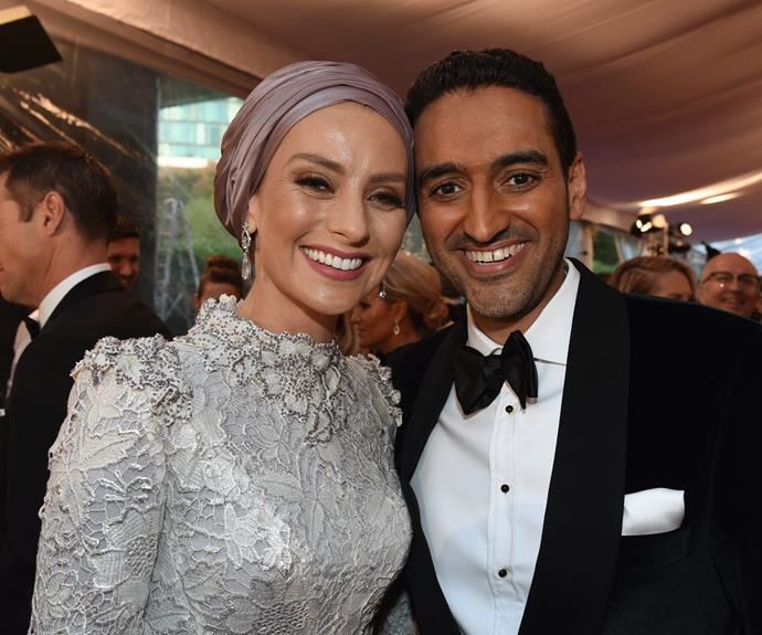 Waleed Aly and his wife Susan Carland.