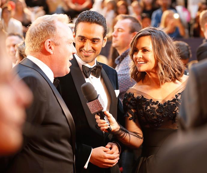 Lisa Wilkinson interviews Gold Logie nominees Peter Helliar and Waleed Aly.