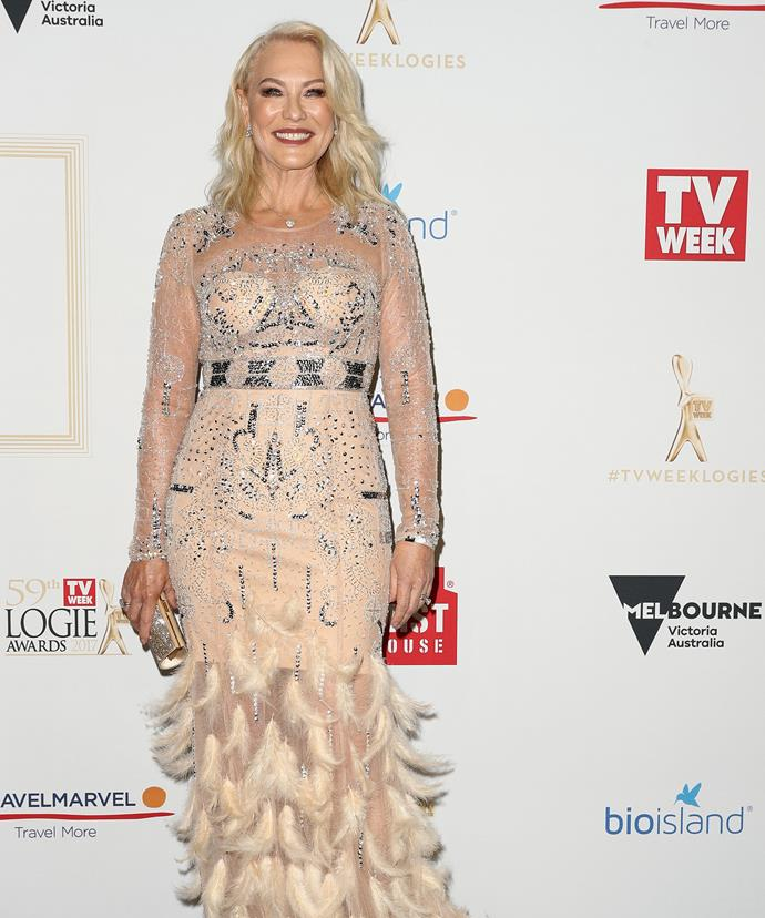 Golden girl! Tonight, the iconic Aussie star will be inducted into the TV WEEK Logies Hall of Fame.