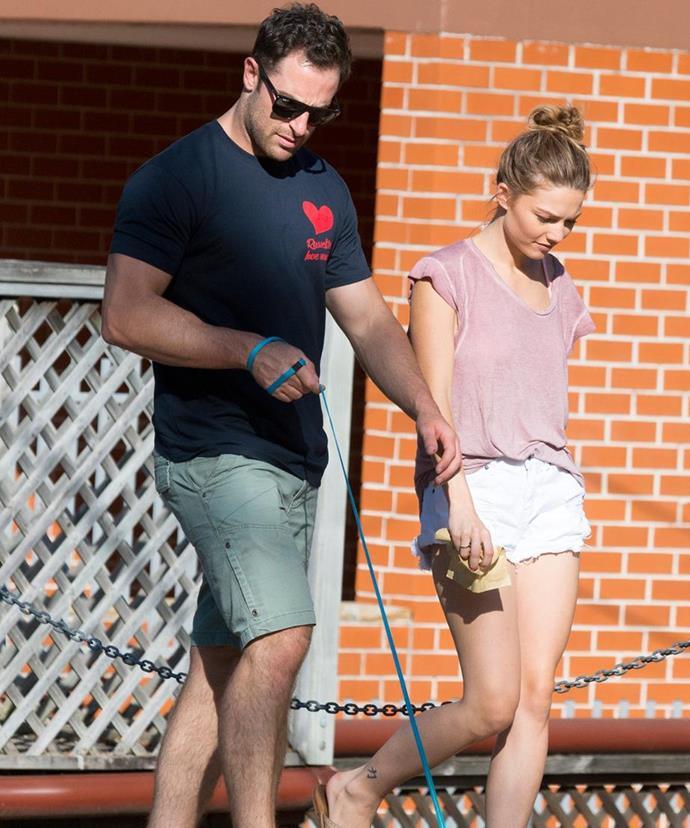 Sasha and Sam broke up in January 2017.