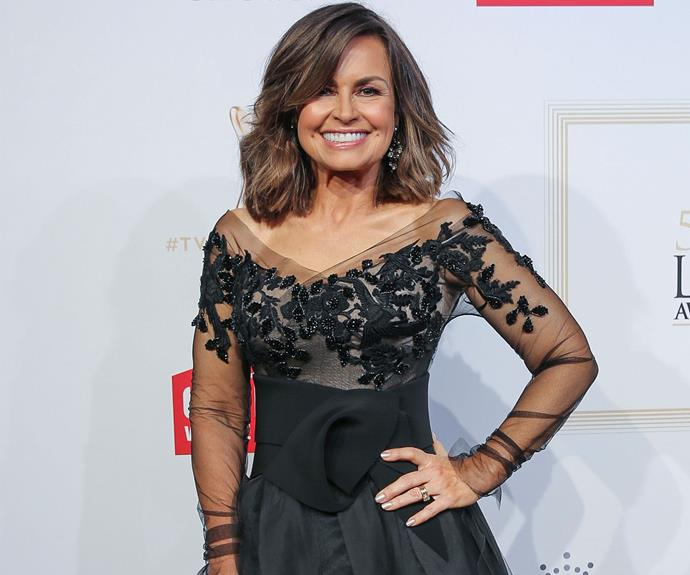 Lisa Wilkinson has got Logies dressing down to a fine art with this winning Cappellazzo Couture dress.