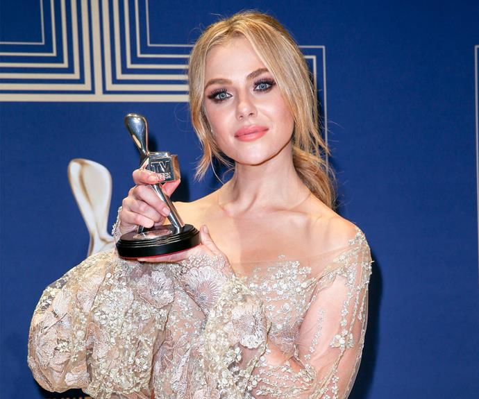 Jessica Marais won Best Actress for her roles in *Love Child* and *The Wrong Girl* - congrats!
