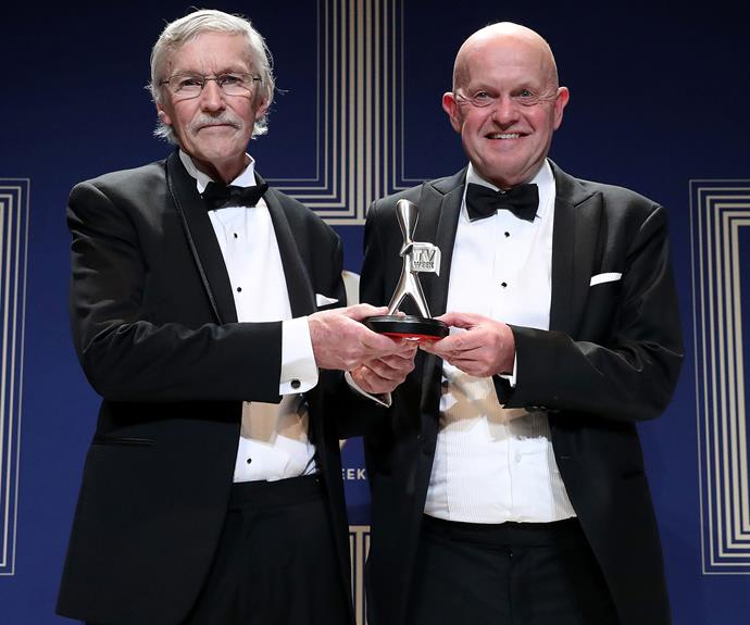John Flyers and John Silvester couldn't be happier to earn a Logie for Most Outstanding Factual or Documentary Program for their work on *Conviction*.