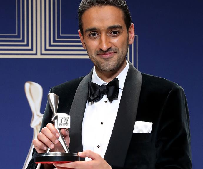 Last year's Gold Logie winner Waleed Aly has another award for his mantle, this time for Best Presenter for *The Project*.
