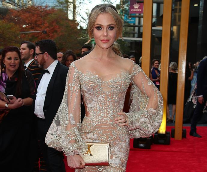 Jessica Marais won Best Actress at tonight's ceremony.
