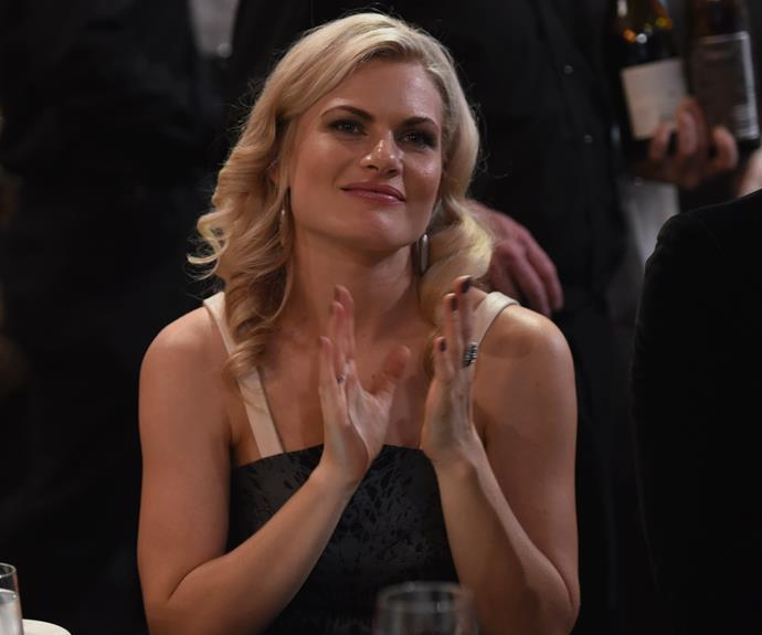 Former *Home And Away* star Bonnie Sveen.