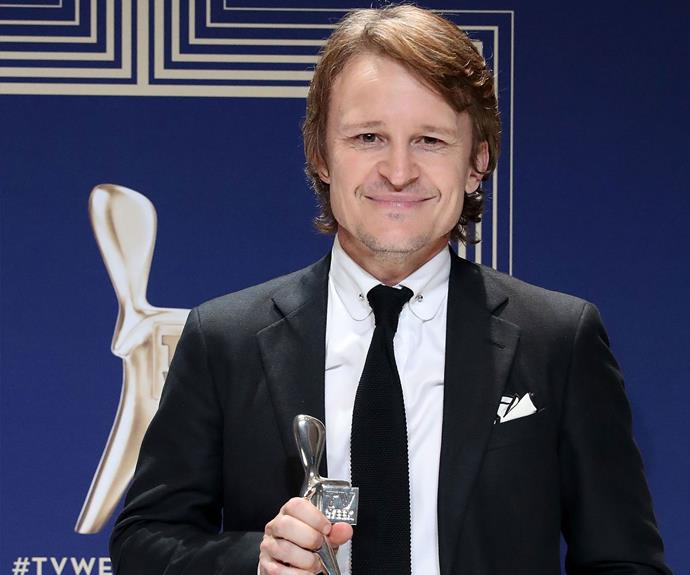 Damon Herriman won Most Outstanding Supporting Actor for his *Secret-City*.