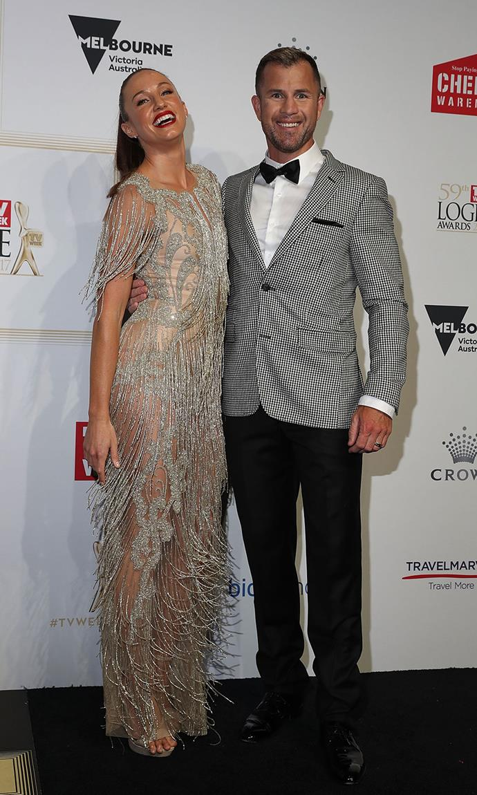 Libby Babet and Shannan Ponton - again, not technically a couple, but surely the fittest pair around?!