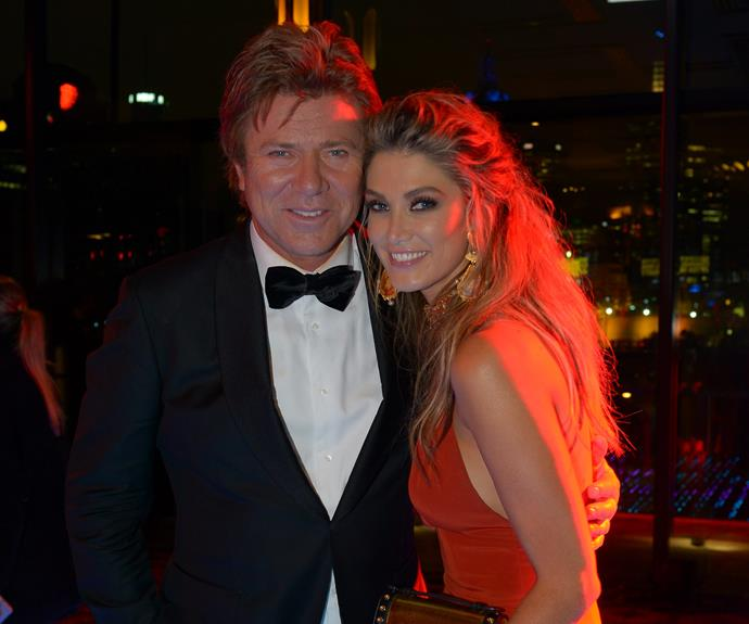 Delta Goodrem catches up with *Today Show* star Richard Wilkins.