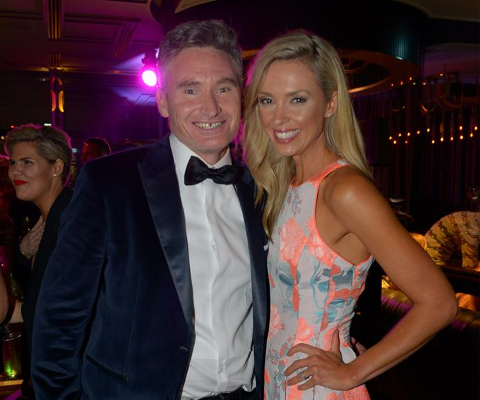 "Following his [brilliant opening monologue,](http://www.nowtolove.com.au/celebrity/tv/dave-hughesy-hughes-speech-logies-2017-36929|target=""_blank"") Dave Hughes rubbed shoulders with Brodie Harper."