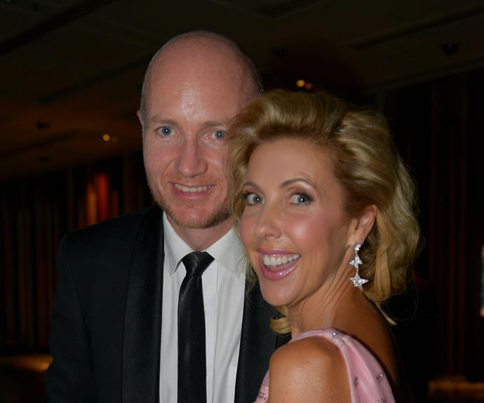 Hugh Nailon and Catriona Rowntree were all smiles.