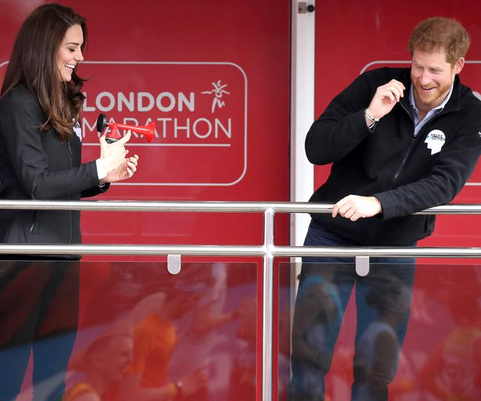 Their Royal Highnesses still know how to have fun!