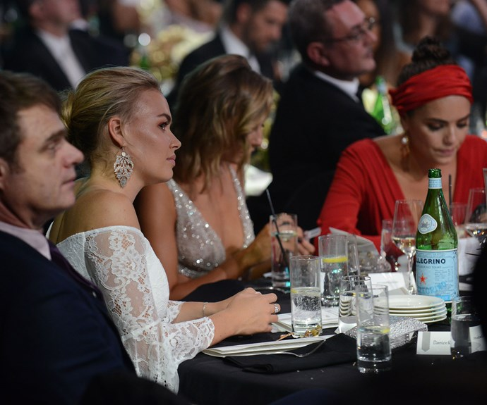 A cheeky snap of the *Neighbours* table within the awards ceremony.