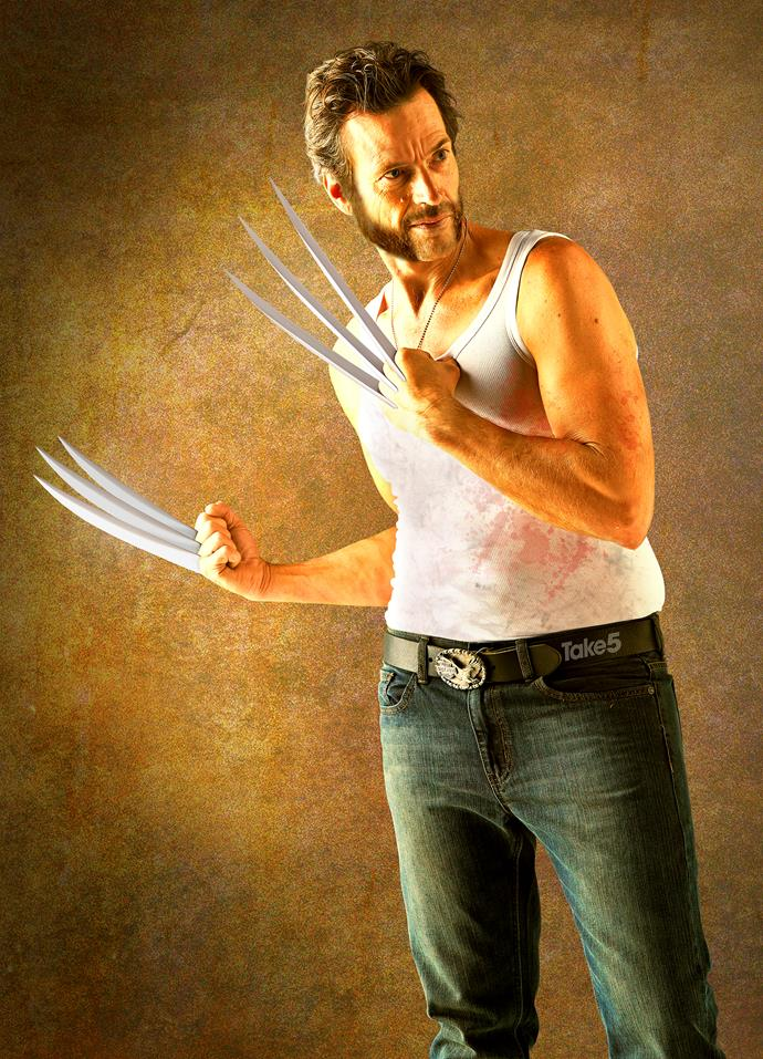 Move over, Mr Jackman, there's a new, more scary Wolverine about to get his claws into your heart.