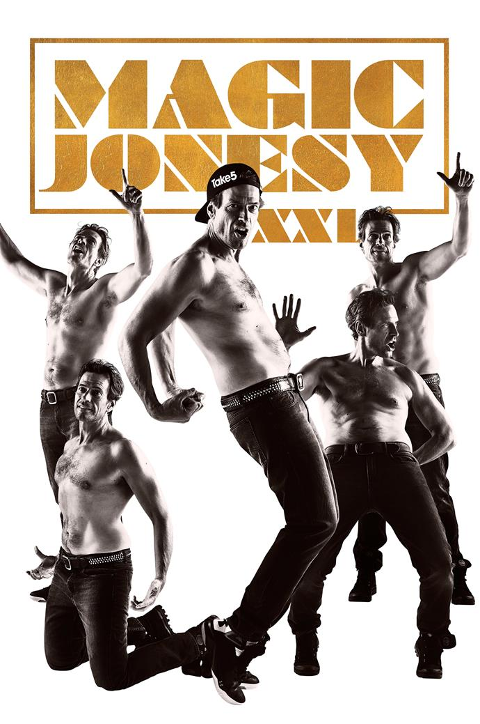 Fans would be whipped into a frenzy if he ever decided to join Channing Tatum and his troupe of Magic Mike XXL male strippers.