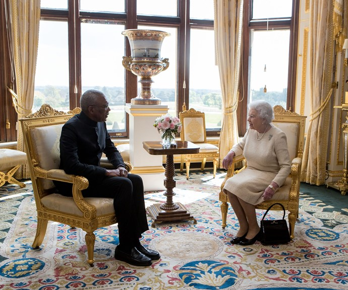 Her Majesty is one busy woman! On April 26, The Queen hosted an audience with the President of Guyana, David Granger. The pair enjoyed a pleasant meeting at Windsor Castle.