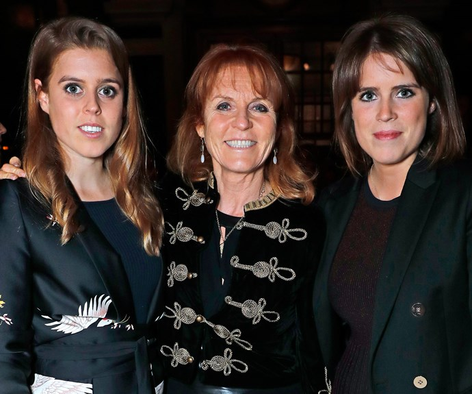 Beatrice, Sarah and Eugenie are all working closely with Prince Andrew on his Pitch@Palace initiative.