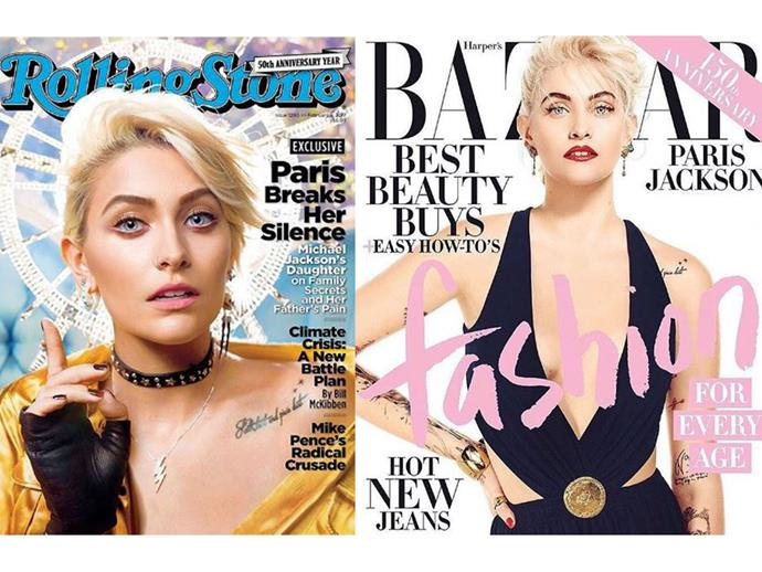 *Rolling Stone* February 2017 and *Harper's BAZAAR April 2017*