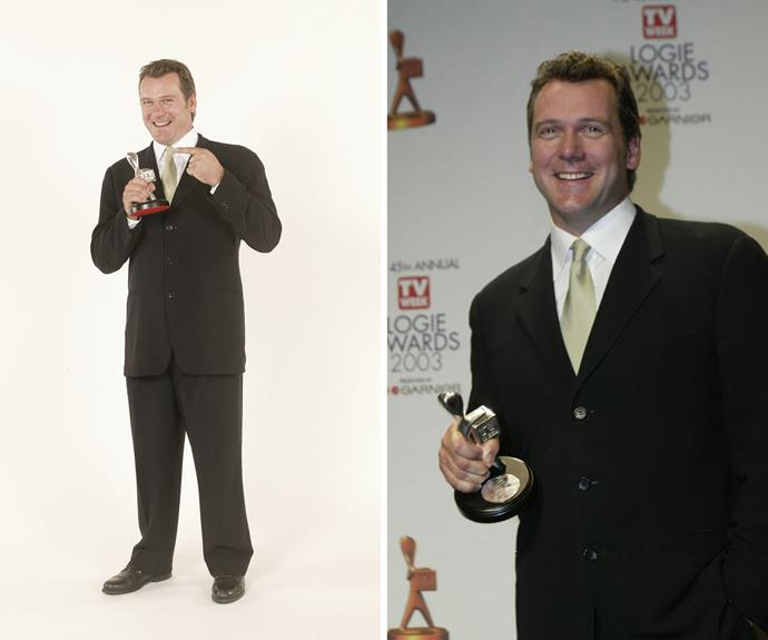 ***TV WEEK* LOGIE AWARDS, 2003:** Erik has been nominated for a number of Logie Awards over the years. He won the Logie for Best Actor in 2003 and 2016.