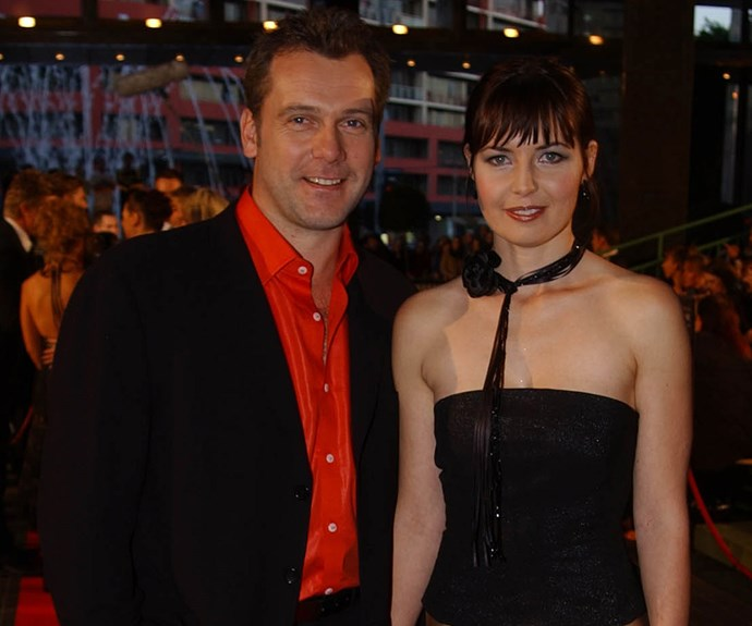 """TV WEEK LOGIE AWARDS, 2002: Erik says - """"I don't know who thought orange was a good idea! Caitlin [McDougall, his wife] and I met in late 1997 through mutual friends. Caitlin got a job in *All Saints* and then *Always Greener*. We were about to get married and then we got roles in *The Alice* together."""""""